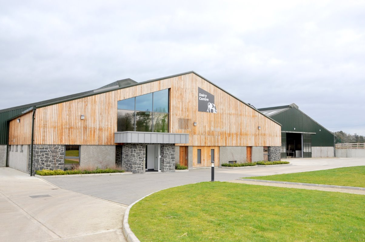 Greenmount College in Antrim      started construction of its new dairy unit in July 2012 and were milking      in late July 2013.