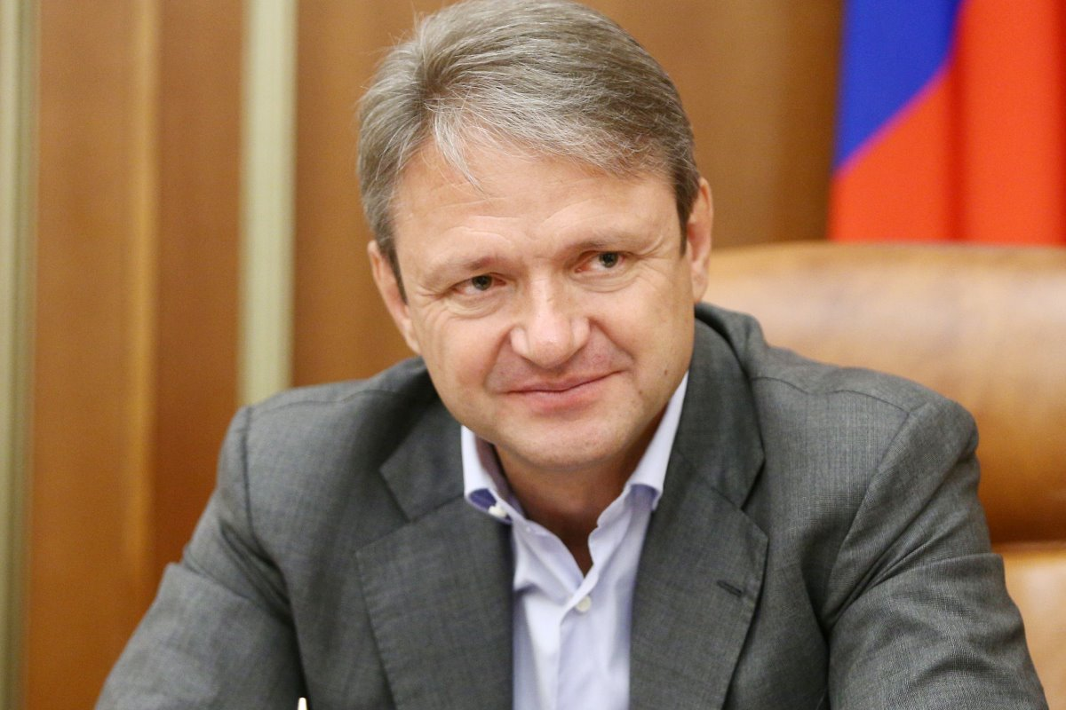 Russia's Agricultural Minister Alexander Tkachev has set ambitious goals for the Russian dairy sector. Photo: Agricultural Ministry