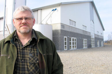 Poulsen milks 900 cows in partnership with his neighbour. Photo supplied.