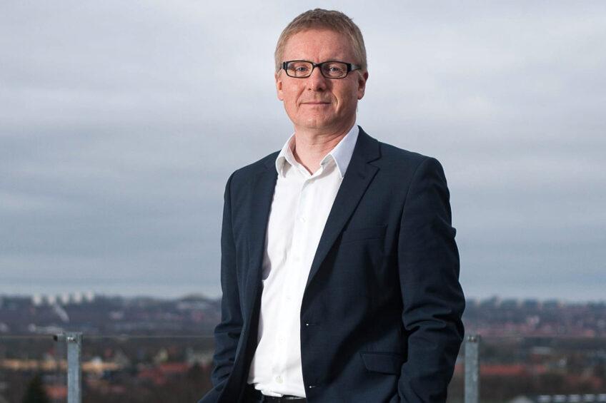 Arla's vice president, global member services, Henrik Damholt Jørgensen,