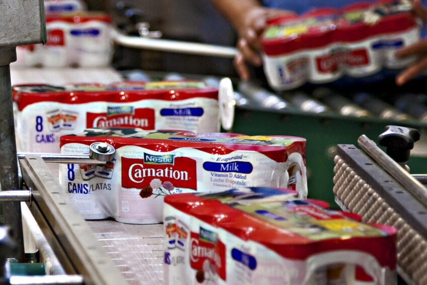 Nestlé the biggest, French swop places. Photo: Nestlé