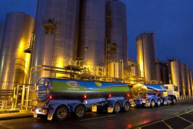 Milk Tanker at Te Rapa Dairy Factory. Photo: Bruce Jarvis, Fonterra.