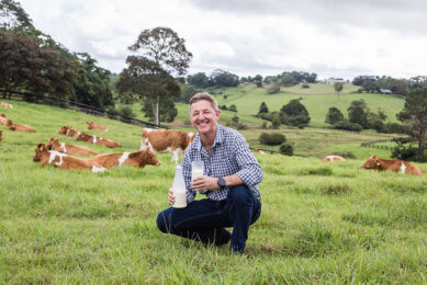 """Founder Jeff Hasting of Naturo: """"We hope to provide a better return for dairy farmers."""" Photo: Naturo"""