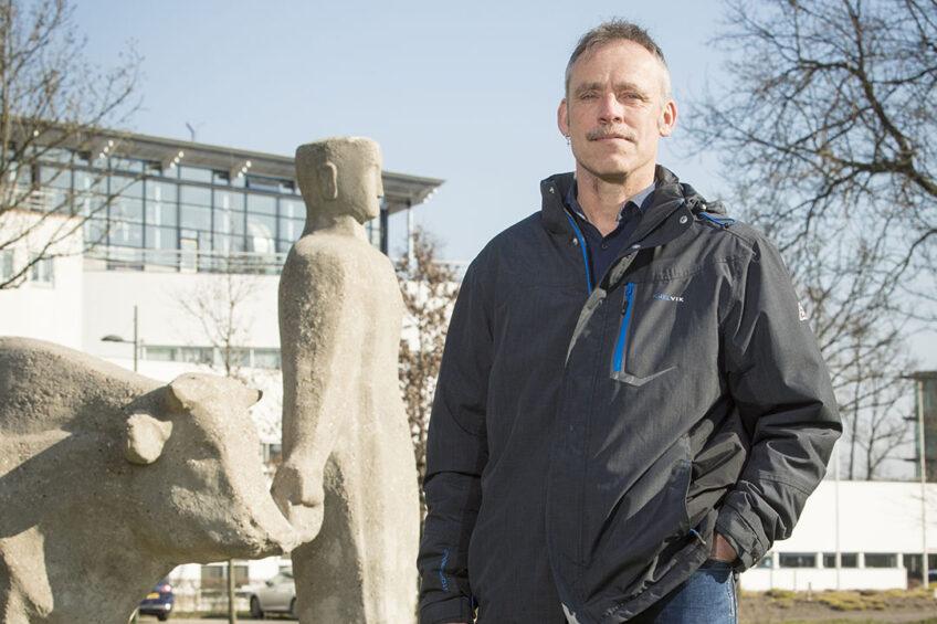 Jan Dijkstra, animal feed expert at Wageningen University & Research (WUR). Photo: Koos Groenewold