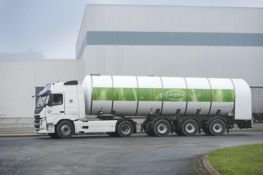 FrieslandCampina: higher revenues, but lower profit. Photo: Mark Pasveer