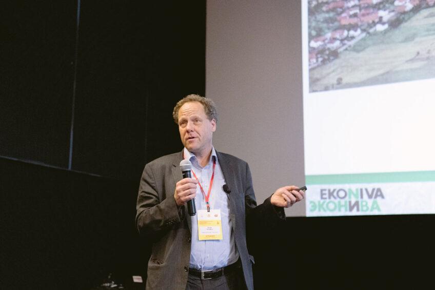 Stefan Duerr, CEO of EkoNiva. Photo: Vladislav Vorotnikov