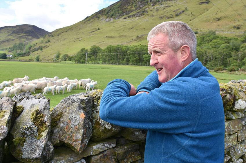 Scott Renwick is also a sheepdog trialist. Photo: Chris McCullough