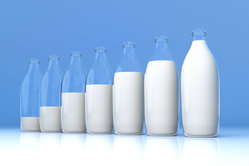 More milk production per cow in the US. Photo: Shutterstock