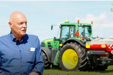 Ad van Velde from a dairy farm based in Het Hogeland, Groningen province.