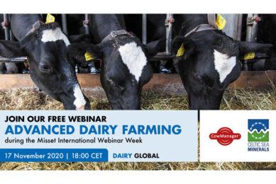 Counting down! Webinar on Advanced Dairy Farming