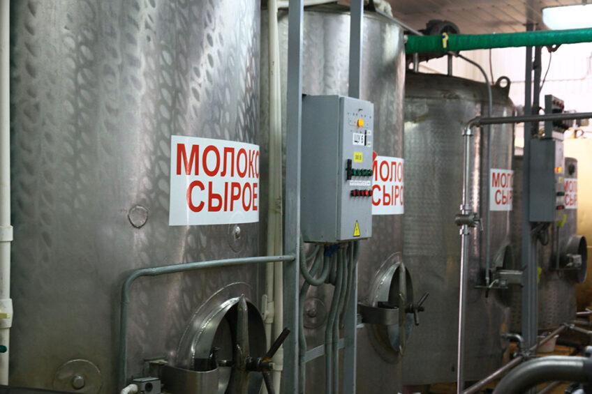 Raw milk. Photo: Agroprom Udmurtiya