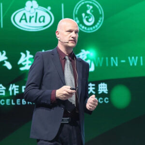 Snorri Sigurdsson, senior project manager at Arla Foods, tells us more about how rapidly the sector is taking shape with some farms boasting tens of thousands of cows. Photo: Arla Foods