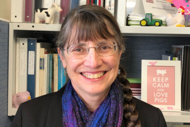 Diane Wray-Cahen, in this interview talks to us about genome editing and how it can change agriculture. Photo: Chris McCullough