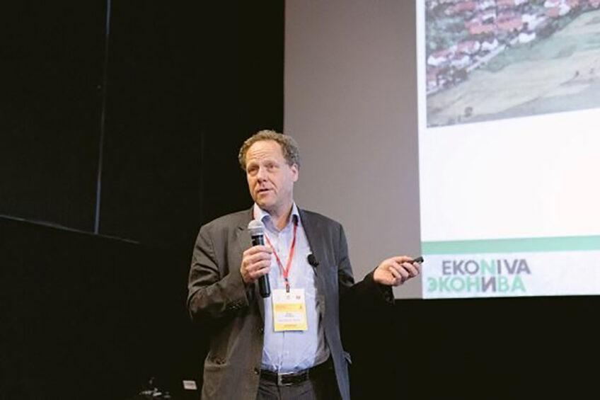 Stefan Duerr, CEO of EkoNiva. Photo: Vladislav Vorotnikov.