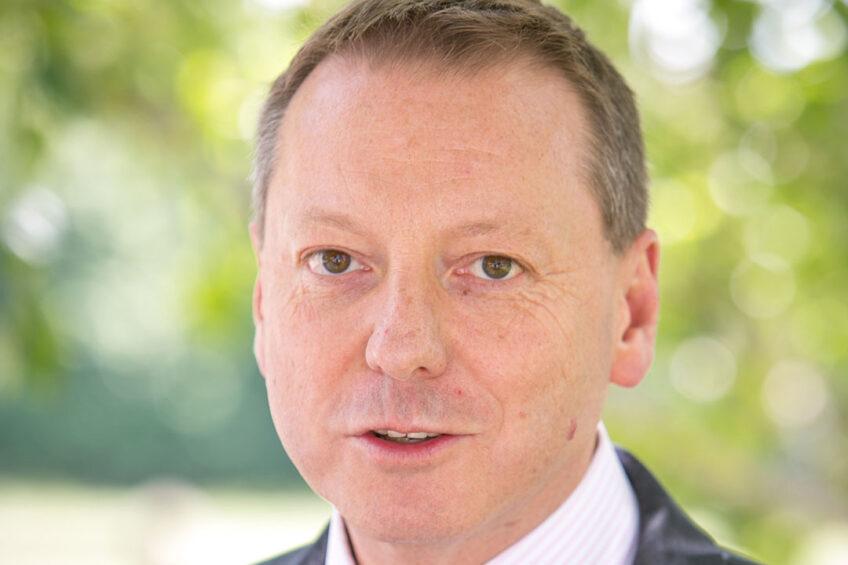 Professor Richard Hammond, head of the Bristol Veterinary School