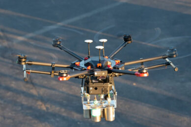 Drones don t need the same level of sensitivity as they are able to fly closer to the source. Photo: Scientific Aviation