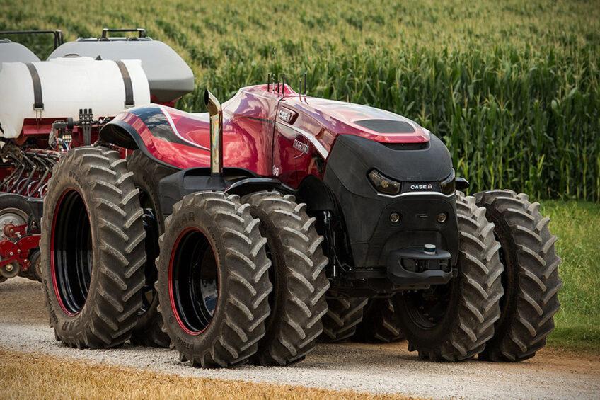 Farmer at the core of precision farming revolution. Photo: Case
