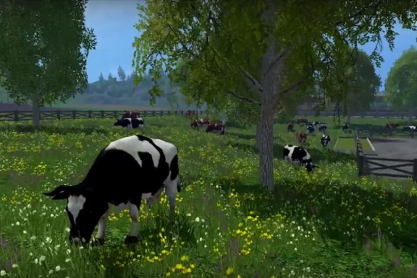 Lely milking robot added to Farming Simulator Game