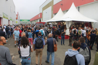 SPACE 2021, a bustling trade show in Rennes, France. Photo: Vincent ter Beek